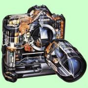 Aufbau eines modernen Fotoapparates
