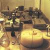 Arbeitstisch von OTTO HAHN, an dem die Kernspaltung entdeckt wurde (Nachbau im Deutschen Museum München)