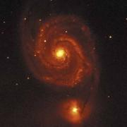 Spiralgalaxie im Sternbild Jagdhunde