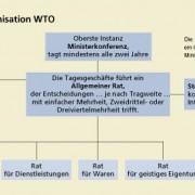 Struktur der Welthandelsorganisation (WTO)