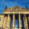 """Die Inschrift """"Dem deutschen Volke"""" erhielt der Reichstag im Jahr 1916."""