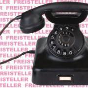 Telefone wurden früher aus Bakelit hergestellt.