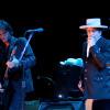 BOB DYLAN (* 1941) bei einem Konzert in Spanien 2012